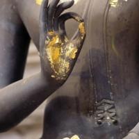 Buddha Statue with Vitarka Mudra