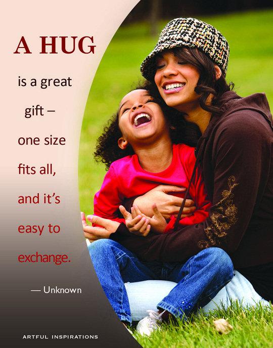 3 Hugs a day