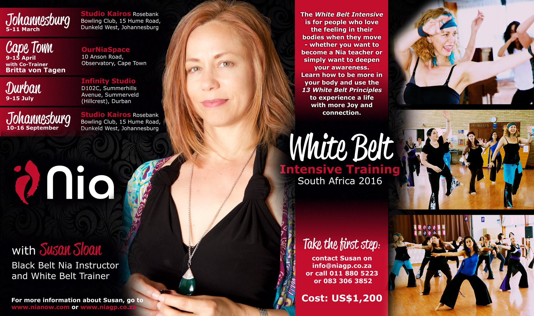 nia white belt training july